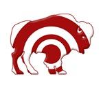 Bison - Target Bulls-eye Silhouette