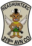 219th AVN CO. HEADHUNTERS