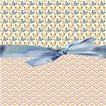 Trendy Chevron Pattern With Butterflies