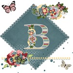 Dreamland Monogram B