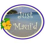 Just Maui'd Beach Logo