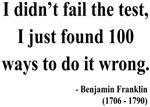 Benjamin Franklin 13