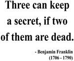 Benjamin Franklin 25