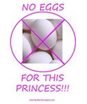 No Eggs For This Princess
