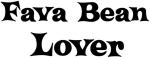 Fava Bean lover