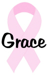 Grace pink ribbon