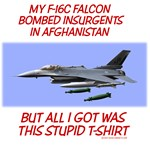 My F-16 Falcon Bombed Insurgents In Afghanistan- B
