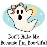 Halloween Bootiful Ghost T shirt Buttons Gifts