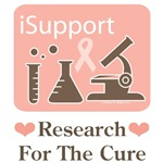 Pink Ribbon Breast Cancer Research T-shirt Gifts