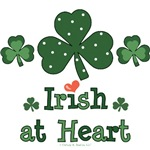 Irish Heart St Patricks Day T-shirt Gifts