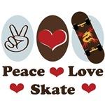 Skateboard Skateboarding T shirt Gifts