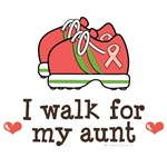 I Walk For My Aunt Pink Ribbon Support Gear