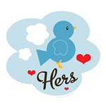 Hers Love Bird T-shirts Tees and Gifts