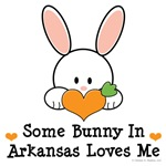 Some Bunny In Arkansas Loves Me T-shirt Gifts