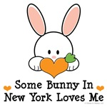Some Bunny In New York Loves Me T shirt Gifts