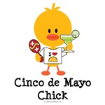 Cinco de Mayo Chick T-shirt Tees and Gifts
