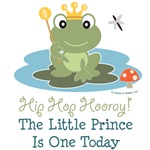 Frog Prince 1st Birthday Apparel Invites Party Dec