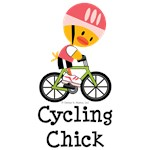 Cycling Chick T-shirts Tees and Gifts