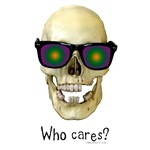 Who Cares Skull