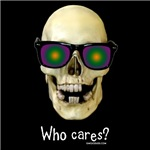 Who Cares Skull Dark