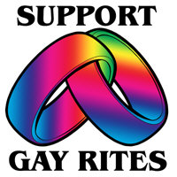 SUPPORT GAY RITES