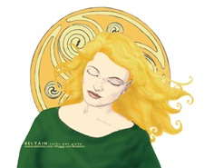 Grania & the Celtic Spiral Sun T-Shirts & Gifts