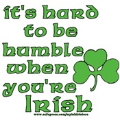 Humble Irish Joke T-shirts and Gifts