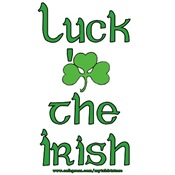 Luck 'o the Irish T-shirts and Gifts