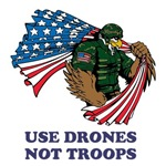 Use Drones Not Troops