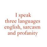 I speak three languages