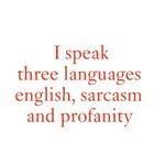 I speak three languages