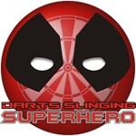 Darts Slinging Superhero