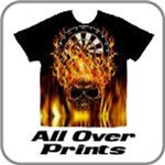 All Over Print Dart Shirts