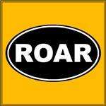 Roar Black Oval
