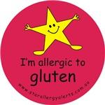 allergic to gluten