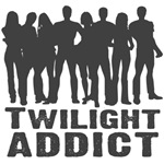 Twilight Addict t-shirts