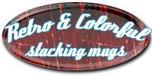 Stacking Colorful Mugs