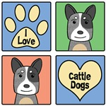 I Love Cattle Dogs (Blue Heelers)