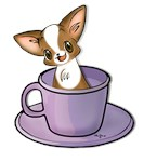 Coffee Cup Chihuahua