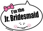 I'm the Jr. Bridesmaid Quote Bubbles