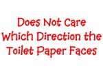 Toilet Paper Direction Tissue Orientation on Roll