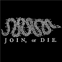 Join or Die 50 States