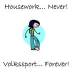 Housework Never