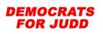 Democrats for Judd