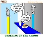 Ordering of the Arrow