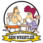WORLDS GREATEST ARM WRESTLER MARRIED COUPLE