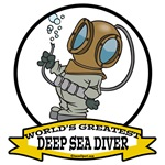 WORLDS GREATEST DEEP SEA DIVER