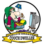 WORLDS GREATEST COUCH DWELLER CARTOON