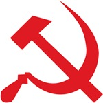 Red Hammer Sickle