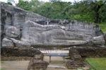 Giant Outdoor Stone Reclining Budha